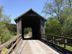 Covered bridge - Berta Rd. off Elk River Rd.